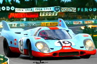 1970 Porsche 917 K, narrow view