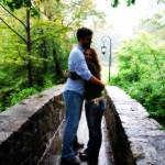 """Bridge Hug Color"" by EffieYoungPhotography"