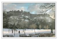 Edinburgh Castle in the Snow March 2006