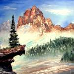"""Mountain Ledge"" by mazz"