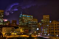 Downtown Lightning Shot