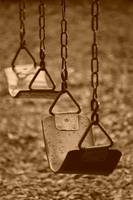 Lonely swings