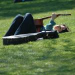 """""""Relaxing With The Guitar"""" by venetiakelley"""