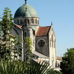 """Castlenau-Montratier church"" by BeckySpencer"