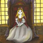 """Cat Art Guinefurre Queen of Catalot"" by taraflyphotos"