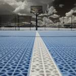"""Basketball court at Miller Motorsports Park in Inf"" by neuftoes"