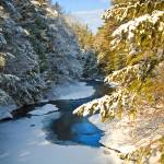 """New England winter creek"" by dave_thompson"