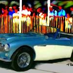 """1966 Austin Healy 3000"" by ArtbySachse"