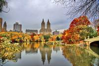 Reflections of Autumn within NYC's Central Park