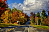 Road to Color in the Adirondacks