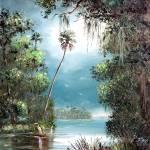 """Foggy River"" by mazz"
