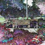"""Ontario Beach Park in colored pencil"" by colormyworld"