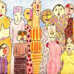 """Family Gathering"" by OutsiderArtist"