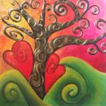 """""""blossoming love tree"""" by funkybrush"""