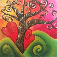 blossoming love tree