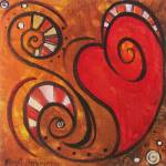 """""""Crazy Whimsical Heart"""" by funkybrush"""