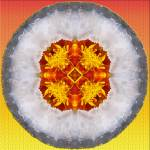 """Marigold Geode"" by colorgoddess"