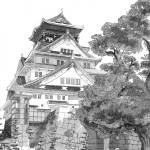 """Osaka Castle"" by gramturismo"