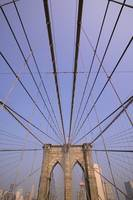 Brooklyn Bridge Detail, New York
