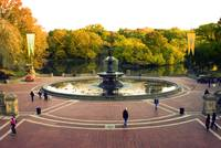 Bethesda Terrace in the Fall