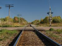 train tracks (CROSSING) 2