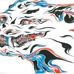 """""""Smoke Dragon"""" by scott_brown"""