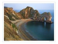 Durdle Door beach, Dorset UK