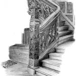 """""""Organic Wooden Staircase"""" by scott_brown"""