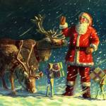"""""Santas on his Way"""" by davepriceart"