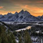 """Snake River Overlook - HDR"" by jpat"