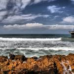 """Hobie Beach Pier Panorama"" by KevinPieDesigns"