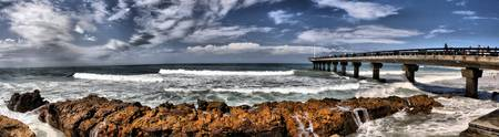 Hobie Beach Pier Panorama