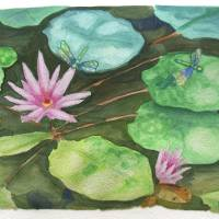 Koi Pond Art Prints & Posters by Michelle Bocklage