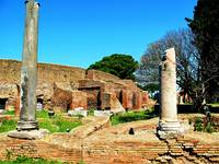 The ruins of Ostia Antica - Mediterranean Seaport