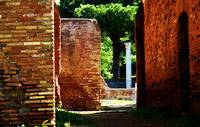 Ostia Antica - Roman archaeological site - Italy