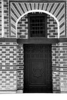 Rasheed Museum Door bw