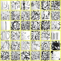 08 JUNE 2005 CALLIGRAPHY MOSAIC BY RICHARD LAZZARA