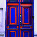 """Blue and Orange Door"" by dougwolven"