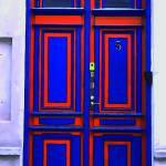 """""""Blue and Orange Door"""" by dougwolven"""