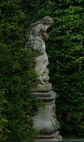 Garden Statue at Linderhof Castle