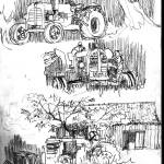 """olds tractors"" by geronimo"