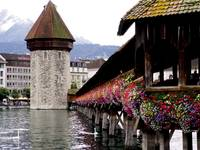 lucern's rebuilt bridge