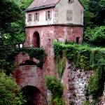 """heidelberg castle bridge house"" by phototes"