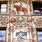 """painted facade in lucern"" by phototes"
