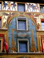 lucern painted building