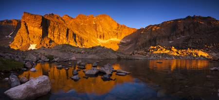 Longs Peak Sunrise Panorama