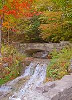Autumn Stone Bridge