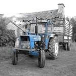 """Vintage Irish Tractor"" by scrapbooktraveler"
