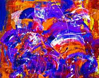 Purple Abstract