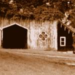 """DSC00010 gothic brown barn copy"" by SusanGrissom"